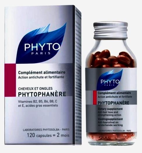 Витамины для волос phyto купить