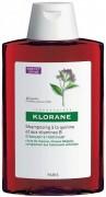 Шампунь Klorane с экстрактом хинином и витамином В