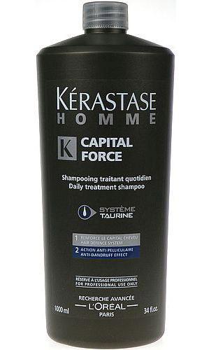 Капитал Форс, ежедневный энергетический шампунь-уход для волос мужчин, 1000мл (thumb27936)