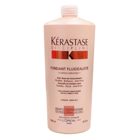 Дисциплин Фондан Флюдеалист, молочко-уход для мгновенного разглаживания всех видов непослушных волос, 1000мл (thumb27888)