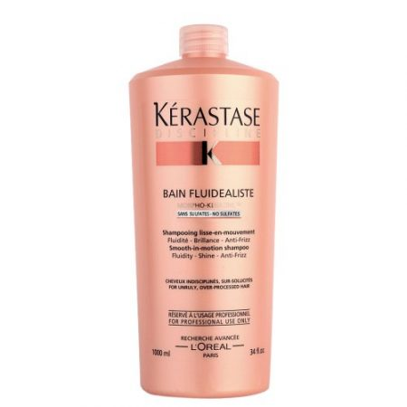 Дисциплин Бен Флюдеалист, безсульфатний шампунь-ванна для мгновенного разглаживания непослушных поврежденных волос, 1000мл (thumb27886)