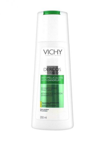 Деркос шампунь против перхоти усилению действия для нормальных и жирных волос 200 мл (thumb29715)