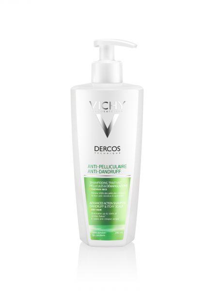 Деркос шампунь усиления действия против перхоти для сухих волос и раздраженной кожи головы 390 мл (thumb29721)